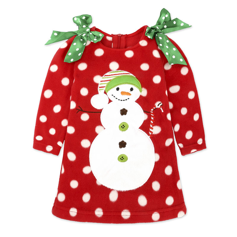 Toddler Kids Baby Girls 6 Months-4T Clothes Long Sleeve Snowman Print Tops Pants Christmas Outfits