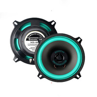 2pcs Cheaper Car Coaxial Speakers 5 inch 135mm 50W Car Bass Speaker Auto Sound Car Audio Music Stereo W/ Tweeter for Cars