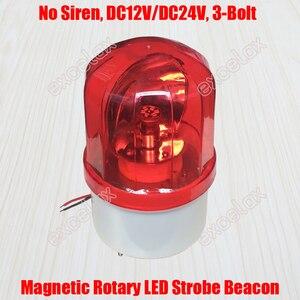 Luz de Flash de reflexión giratoria LED, luz estroboscópica rotativa, lámpara de señal de advertencia de emergencia contra incendios para poste vehículo de protección de centinela