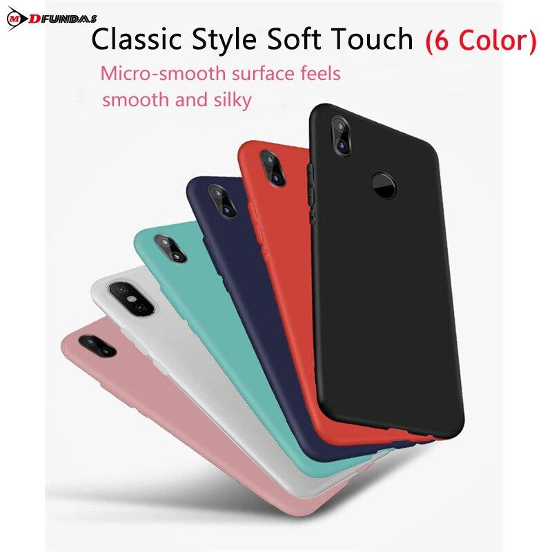 For Case On Xiaomi Redmi Note 5 Pro Funda Redmi Note 5 Pro Cover Back TPU Silicone Soft Matte Original Protector Ultra Thin