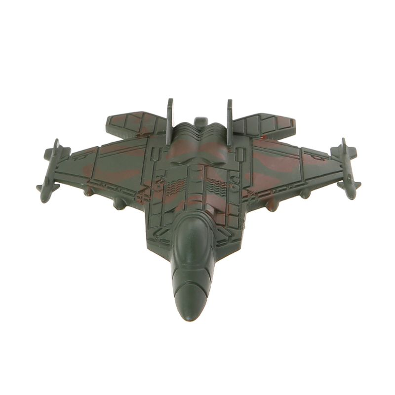 Plastic Military Airplane Fighter Model Kids Simulation Plane Toy Collection Decoration Dec17