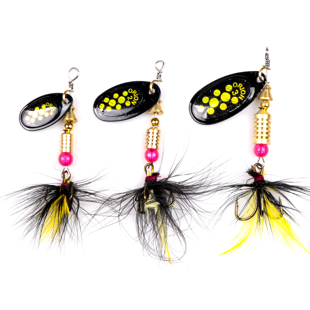 1pcs Spinner Spoon Fishing Lure metal Sequins 3.5g 4.5g 7.2g artificial alloy sub-rotating with treble hook Crankbait baits