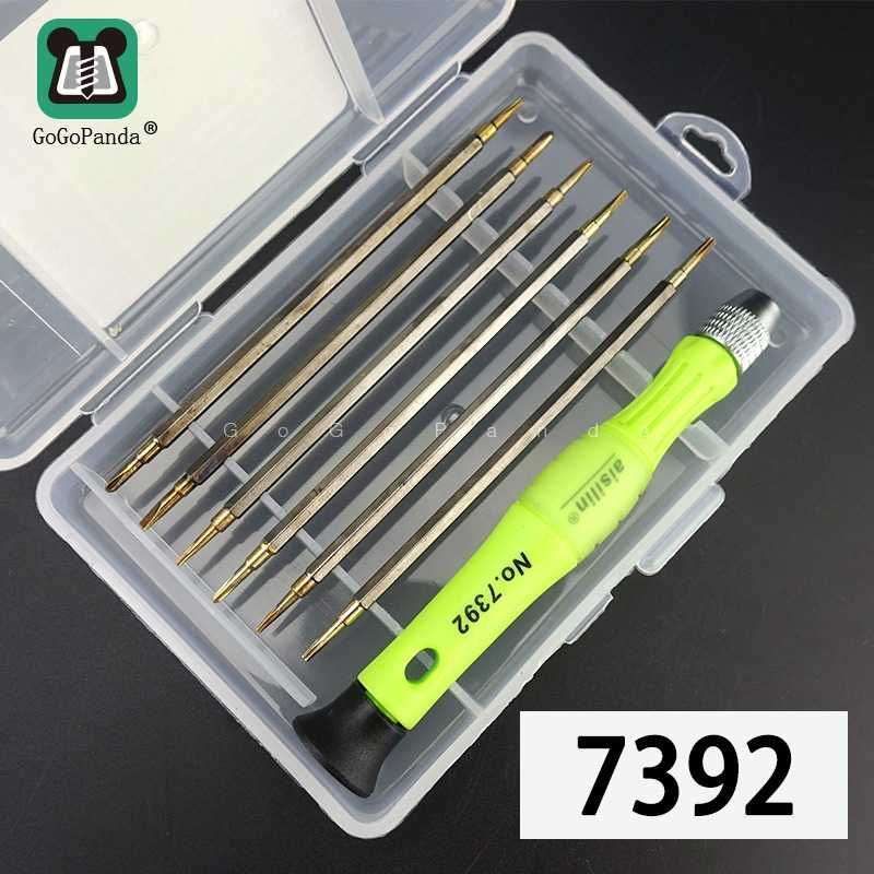 Free Shipping 13 IN 1 Magnetic Screwdriver Set Precision Maintenance Tools Special 0.8 star For Phone Clock Watch Repair 7392