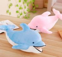 Giant Cute Dolphin Toy Sleeping Pillow Plush Toy Stuffed Animals Dolphin Doll Birthday Gift
