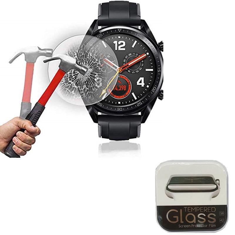 e7951a474 2 Pack 9H Tempered Glass For Huawei Watch GT Screen Protector Anti Scratch  Anti-fingerprint