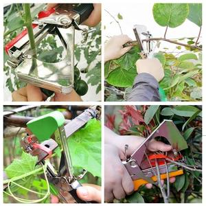 Image 5 - Садовые инструменты растительная завязывающая машина Tapener Tapetool ручная завязывающая машина упаковочная овощная стебель с 12 лента в рулоне для обрезки инструментов