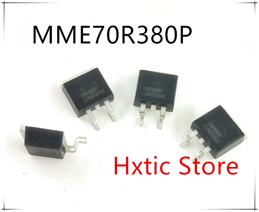 10PCS 70R380P MME70R380P TO-263 750V 11A