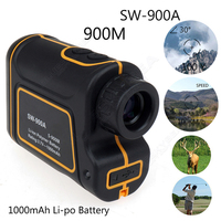 SW 900A 1000M Laser Range Finder Scope Meter Speed Measurer Monocular Rangefinder 8x Distance For Outdoor