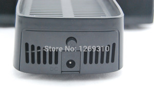 Image 3 - For xbox360 slim 3 In 1 cooling Dock Station Bottom stand fan for Xbox 360 slim console Free Shipping