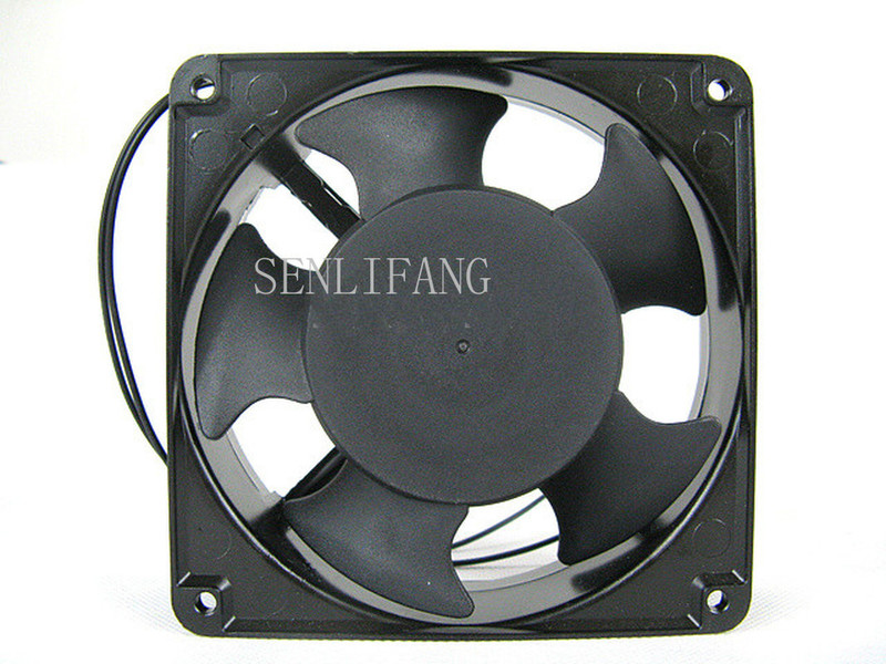 Free Shipping YL12038HBL AC 220V 240V 0.14A 50/60HZ 2 Wires 12038 12cm 120*120*38mm Waterproof Axial Cooling Fan