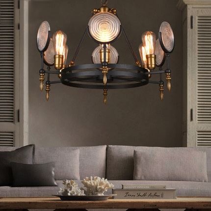 loft industrial style pendant lighting creative restaurant vintage pendant light personality wrought iron edison light fixtures