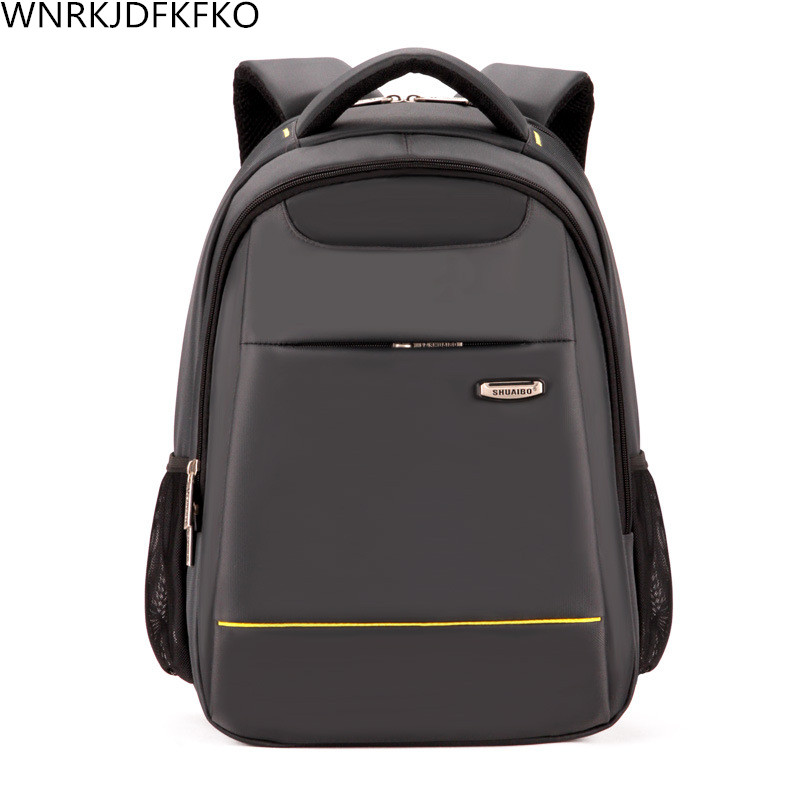 New Men's Backpack Business Students Bag High School Students Bag High-Capacity Travel Backpack Leisure Package factors contributing to indiscipline among high school students