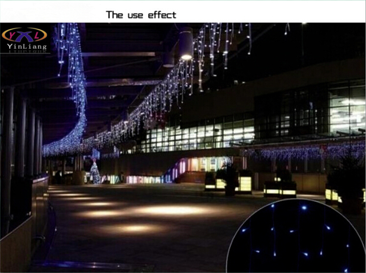 Hot 3,5 m 96 SMD White Holiday Festival Gardin Bryllup Lys LED String - Ferie belysning - Foto 5