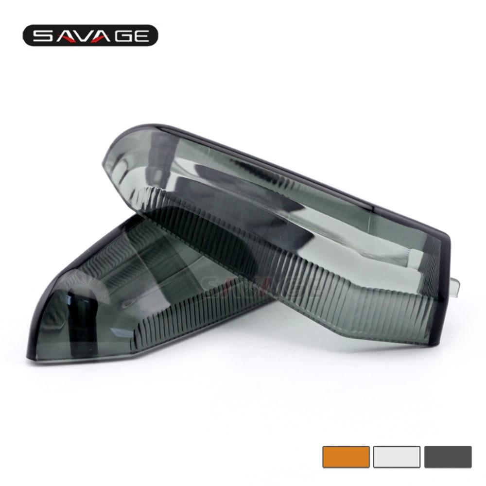For KAWASAKI Z125 Z250 Z300 Z750 Z800 Z1000 Versys 650/1000 ZRX1200 Motorcycle Accessories Turn Signal Indicator Light Lamp Lens