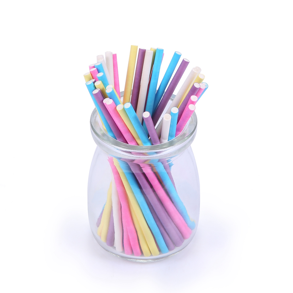 Bakebaking cake pop sticks 10cm colored for lollipop candy for Decoration sticks