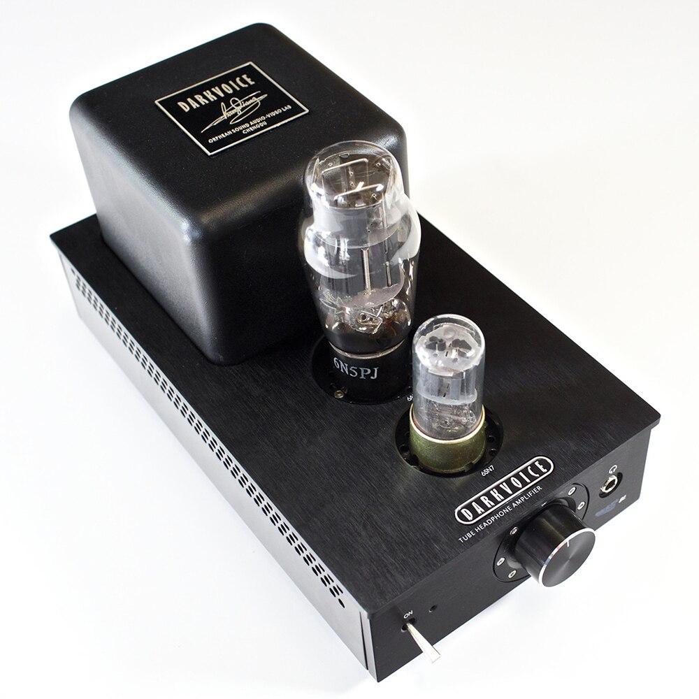 DarkVoice 336SE Headphone Tube Amplifier  OTL Headphone Amp appj pa1502a tube headphone amplifier