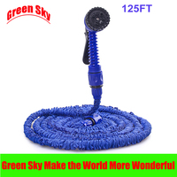 Hot Selling 125FT Garden Flexible Plastic Pipe With Spray Gun Water Hose Expandable
