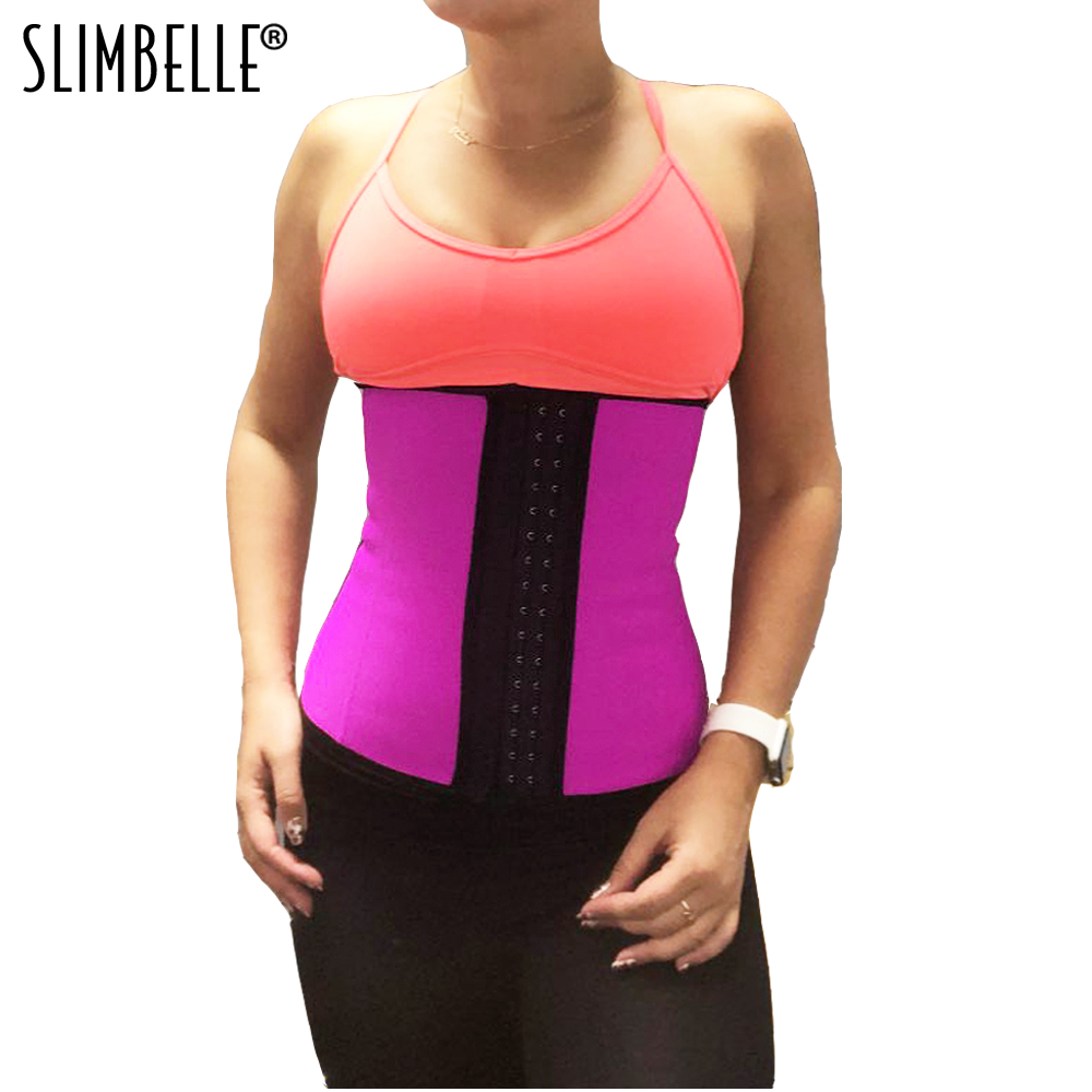 5af7f292829 US Stock Women Waist Trainer Corset for Weight Loss Tummy Control Workout Body  Shaper Plus Size S 6XL Shapewear-in Waist Cinchers from Underwear ...
