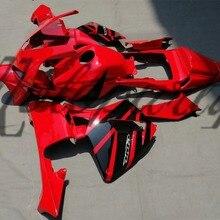 Мотоцикл литья под давлением обтекатель комплект для Honda CBR600RR CBR 600RR 2003 2004 CBR600 RR CBR 600 RR 03 04 Красный Обтекатели кузова