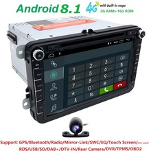 8''2din Android Car DVD GPS Video Player For VW/Volkswagen