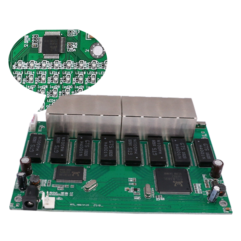 16 Port  RJ45 All Gigabit Ethernet switch  lan switch ethernet switch