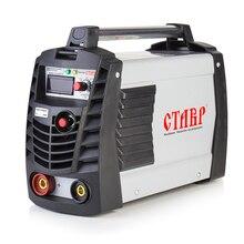 Аппарат сварочный инверторный Ставр САИ-220 БТЭ (Мощность 8400 Вт, сварочный ток 20-220 А, диаметр электрода 1,6-6 мм, номинальная продолжительность включения 60% при 220 А)