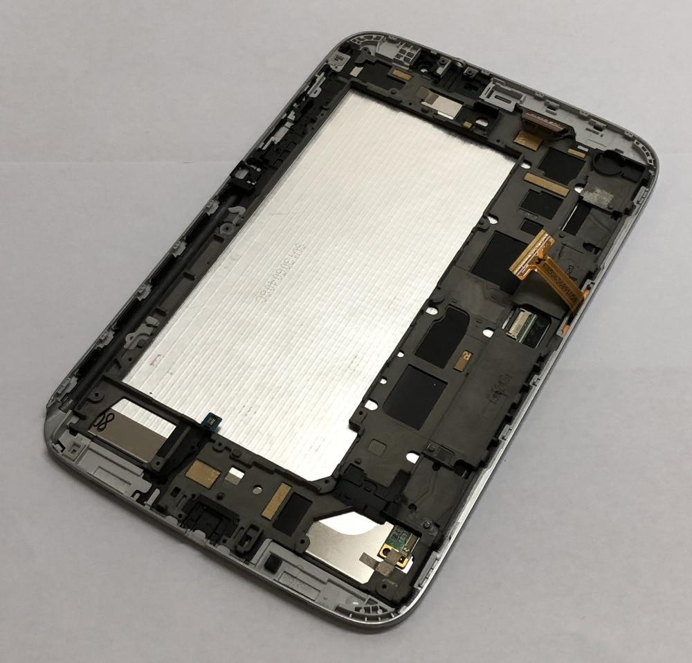 Pour Samsung Note N5100 LCD écran tactile numériseur assemblée avec cadre pour Samsung Galaxy GT-N5100 3G - 2