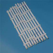 10 Lamps 820mm LED Backlight Strip Kit For LG 42LA613V 42LA613S 42 inchs TV Array Strips Bars Light Bands New Set