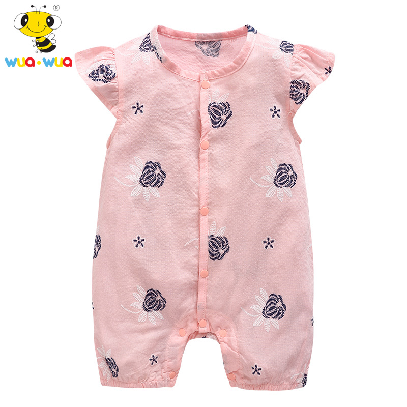 cceea10a0ded Baby clothing Romper baby Cotton Newborn Cloth jumpsuit Short sleeve ...