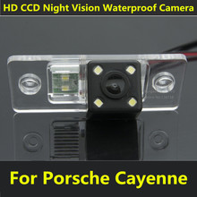 For Porsche Cayenne VW Touareg Golf V Skoda Fabia Passat B5 Tiguan Polo Santana Car CCD Night Vision Backup Rear View Camera