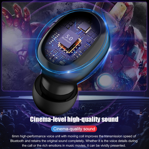 VOULAO Bluetooth Earphone G6s TWS Wireless Headphone With 3500mAh Power Bank Bluetooth V5.0 LED Display Headset IPX7 Waterproof Islamabad