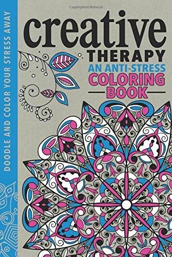 Creative Therapy An Anti Stress Coloring Book English Antistress