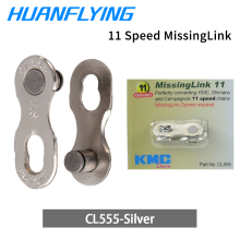 KMC Missing Link bike Chain Chrome Gold For MTB Road Bike Deraillur System 6/7 8/9/10/11 Speed цена и фото