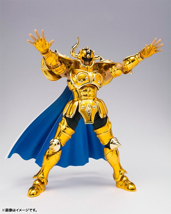IN STOCK S-Temple Metal Club EX Taurus Aldebaran Saint Seiya Myth Cloth Gold Action Figure