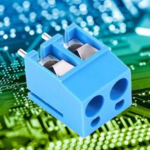 цена на 50pcs/Lot 2-Pin 5.0mm Screw Terminal KF300V-5.0-2P Circuit Board Wiring Terminal Connector  Electric Wire Connection Barrier