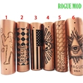Electronic Cigarette Mod Rogue Style 18650 Mechanical Mod e-cigarettes Metal 18650 Mods