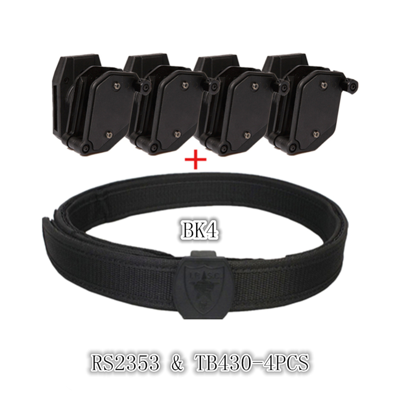 2018 Tactical Skirmish IPSC Belt & Holster Speed Magazine Pouch Set Competition Shooting Belt Tactical Mag Holster Pistol Quick adjustable quick release plastic tactical puttee thigh leg pistol holster pouch for usp45 black page 7
