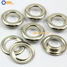 100 набор 27*15*8 мм(наружный диаметр* внутренний диаметр* высота) серебряная круглая петля втулка