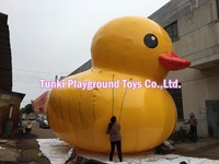 6 meters Giant inflatable yellow duck/yellow rubber duck/water duck