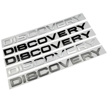 For Land Rover Discovery Logo Discovery 2 3 4 5 Velar Vogue Freelander 2 Defender Car Letter Emblem Chrome Badge Car Decoration