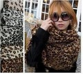 Free shipping Summer autumn and winter large leopard print chiffon scarf female long silk scarves is prevented bask in shawls