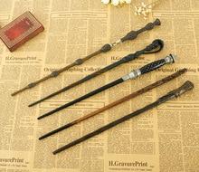 Новые металлические core Гермиона Грейнджер Волшебная палочка/Гарри Поттер Волшебная палочка/Высокое качество упаковка подарочная коробка