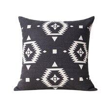 Cushion Cover Aztec For Pillows Case Home Decorative Cushion Case Cotton  Linen Throw Pillow Covers Sofa Couch Cushion Pillowcase