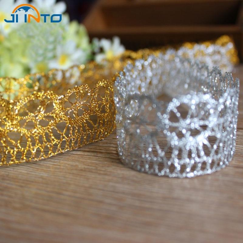 Best Seller 10 Yard Organza Glitter Ribbons For Wedding Craft Bow