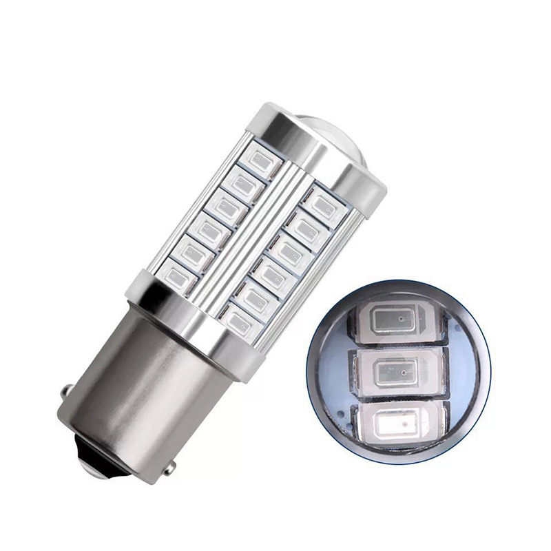 Image 4 - 2PCS 1156 5630 5730 BA15S 7506 P21W LED Car Tail Bulb Brake Lights 12V LED Auto Reverse Fog Lamp Daytime Running Signal Light-in Signal Lamp from Automobiles & Motorcycles