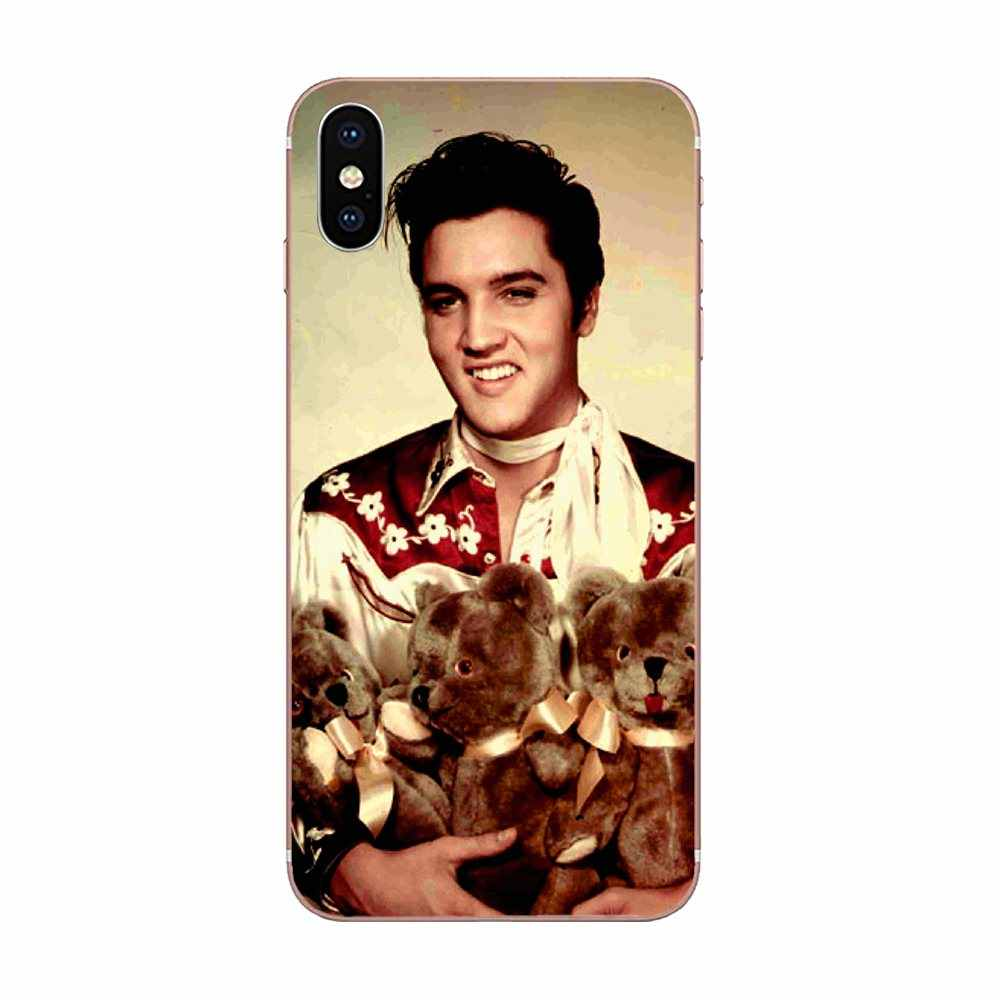 Country Music Elvis Presley For Apple iPhone X XS Max XR 4 4S 5 5C ...