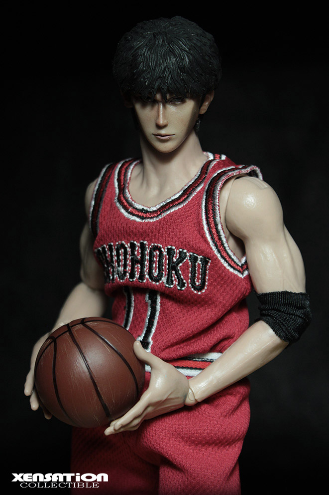 1/6 scale Figure doll SLAM DUNK NO.2  Rukawa Kaede .12 action figures doll.Collectible figure Model toys and gifts anime slam dunk rukawa kaede action figure number 11 ball suit figure model pvc classic collection toy garage kit brinquedos