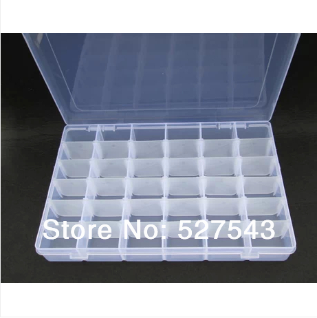 Free shipping 36 grids PVC storage boxes plastic cross stitch thread storage box 1 piece/  sc 1 st  AliExpress.com & Free shipping 36 grids PVC storage boxes plastic cross stitch thread ...