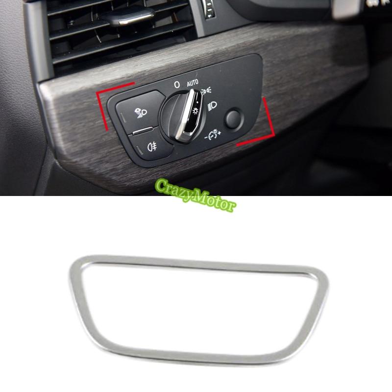 1pcs ABS font b Car b font font b interior b font head light lamp switch