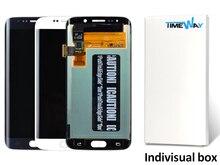 Nueva llegada 2 unids para samsung s6 edge g925f/g925s nuevo teléfono móvil de pantalla lcd con pantalla táctil digitalizador asamblea envío libre gratis